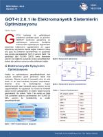GOT-It 2.0.1 ile Elektromanyetik Sistemlerin Optimizasyonu
