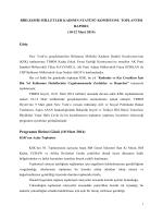 58. Kadının Statüsü Komisyonu Toplantısı Raporu