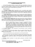 Scanned Document - Başbakanlık Devlet Personel Başkanlığı