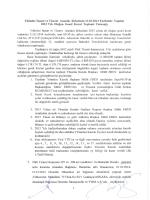 Yıldızlar İnşaat ve Ticaret Anonim Şirketinin 31.03.2014 Tarihinde