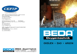 BEDA® Oksijen Emniyet Çözümleri