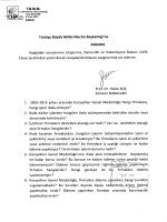 ANKARA - Türkiye Büyük Millet Meclisi
