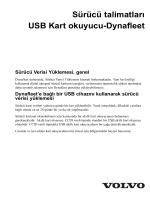 Sürücü talimatları USB Kart okuyucu-Dynafleet