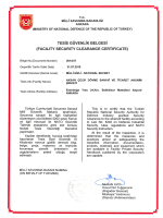 FACILITY SECURITY CLEARANCE CERTIFICATE
