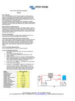 Victron Energy bv / De Paal 35 / 1351 JG ALMERE - Solar