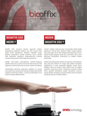 BioAffix SSO Broşür