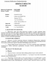 Anayasa Mahkemesinin 17/9/2014 Tarihli ve 2013