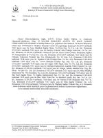 tutanak - Kütahya İli Kamu Hastaneleri Birliği Genel Sekreterliği