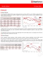 22 Ocak 2015 tarihli piyasa yorumu