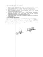 TRANSFER SET T EKl` l. solüsyon Ve ilaçların t 2. Transfer set