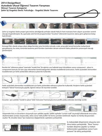 2014 DesignNext Autodesk Ulusal Öğrenci Tasarım
