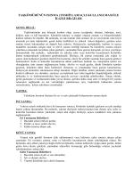 taşkömürünün ısınma (teshin) amaçlı kullanılması ile ilgili bilgiler