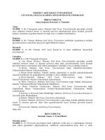Valilik Genelgesi - Mehmet Akif Ersoy Üniversitesi