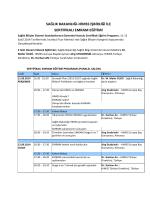 HIMSS Sertifikalı EMRAM Eğitimi Programı (Download PDF)