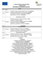 5. Erasmus Üniversiteleri Günü 8 Mayıs 2014 HİPOKRAT