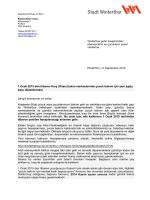 payı düzenlemesi - Tagesfamilien Winterthur