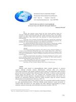 Ürgüp Boyalı Köyü Cami Mihrabı - Journal of International Social