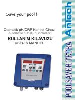POOLSAVER TETRA Kontrol Cihazı Türkçe Kullanım Kılavuzu