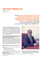 KAYTEN TEKNOLOJİ - Young Business