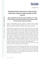 ÖLÇSAN biyometrik, geçiş kontrol ve kimlik yönetimi çözümleriyle