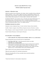 Lille ISA Grubu (GROUPE ISA)* Fransa ISFRADA Eğitim Programını