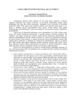 Bilim, Araştırma ve Biz - Atılım Üniversitesi Açık Erişim Sistemi