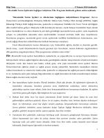Basın Bildirisi (Mevsimlik Tarım İşçilerinin Sağlığını Geliştirme Ülke