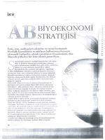 ab biyoekonomi stratejisi