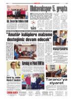 SAYFA 15 Çorum Belediyespor Kulüp Başkanı Zeki