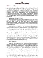 Kurulumuzun 21/6/2014 tarih ve 2014/3006 sayılı kararının