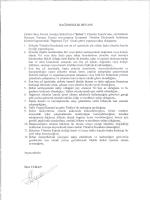 Bağımsızlık Beyanı - Çelebi Hava Servisi Yatırımcı İlişkileri
