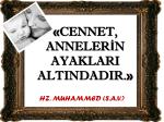 Hz. Muhammed (sav)