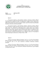 04 Kasım 2014 Toplantı Sayısı