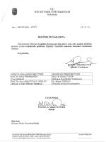 28.11.2014 Bologna Eşgüdüm Komisyon üye değişikliği yazısı