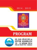 PROGRAM 2014 - 15.FH9