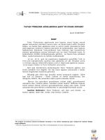 Tatar Türkçesi Ağızlarında Şart ve Dilek Kipleri