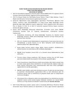 Ocak - 2014 Faaliyet Raporu - Murat Nehri Havzası Rehabilitasyon
