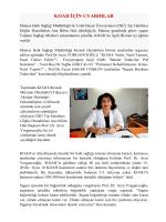 koah için uyardılar - Manisa Halk Sağlığı Müdürlüğü