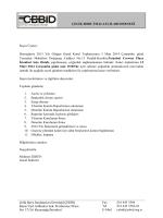 2013 Yılı Olağan Genel Kurul Toplantısı