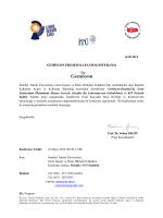 Konferans Programı