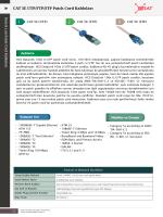 132 CAT 5E UTP/FTP/STP Patch Cord Kabloları