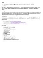 PHP: Usulüne Uygun - Akademik Bilişim Konferansları