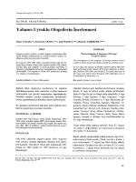 Yabancı Uyruklu Otopsilerin incelenmesi