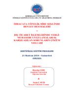 Seminere davet - Ankara Serbest Muhasebeci Mali Müşavirler Odası