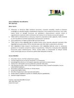 Çevre Politikaları Koordinatörü Ref: (KÇP-ÇK) • Esnek
