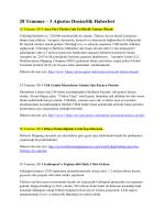 28 Temmuz – 3 Ağustos Denizcilik Haberleri
