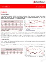 22 Aralık 2014 tarihli piyasa yorumu
