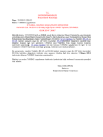 Ek-İthalat Genel Müdürlüğü Tasarruflu Yazısı tam metni