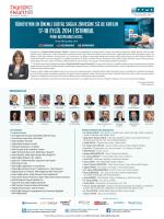 17-18 EYLÜL 2014 | Istanbul - Digital Health Summit Turkey