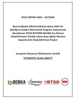 BUTGEM - Otomotiv Alanı Anketi